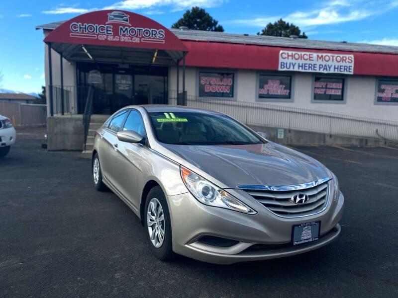 2011 Hyundai Sonata for sale at Choice Motors of Salt Lake City in West Valley  City UT