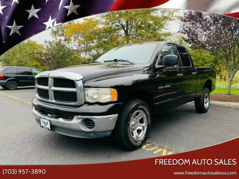 2003 Dodge Ram Pickup 1500 for sale at Freedom Auto Sales in Chantilly VA