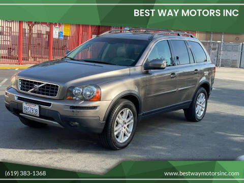 2010 Volvo XC90 for sale at BEST WAY MOTORS INC in San Diego CA