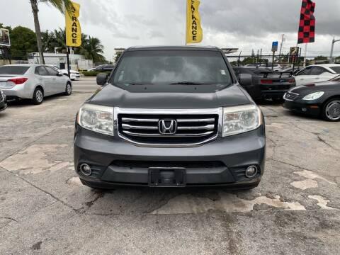 2012 Honda Pilot for sale at America Auto Wholesale Inc in Miami FL