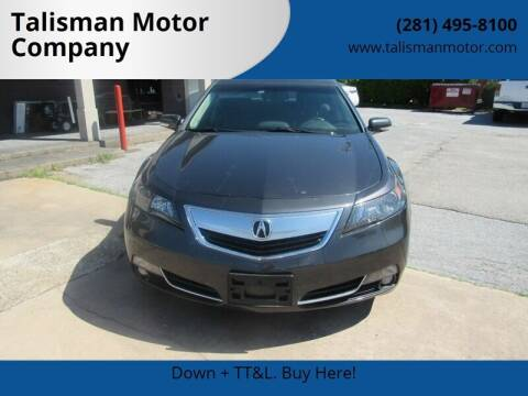2012 Acura TL for sale at Don Jacobson Automobiles in Houston TX