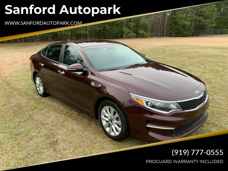2016 Kia Optima for sale at Sanford Autopark in Sanford NC
