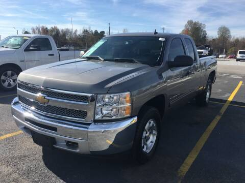 2013 Chevrolet Silverado 1500 for sale at D. C.  Autos in Huntsville AL
