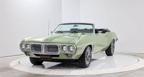 1969 Pontiac Firebird for sale at Mershon's World Of Cars Inc in Springfield OH