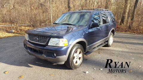 2003 Ford Explorer for sale at Ryan Motors LLC in Warsaw IN