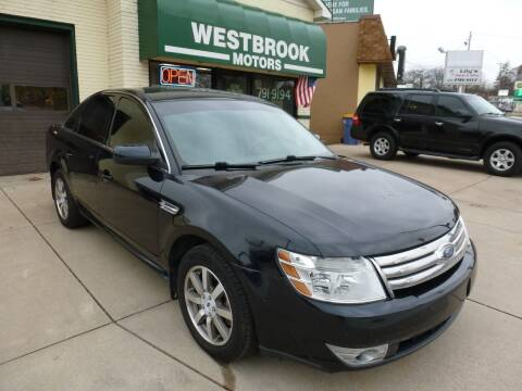 2008 Ford Taurus for sale at Westbrook Motors in Grand Rapids MI