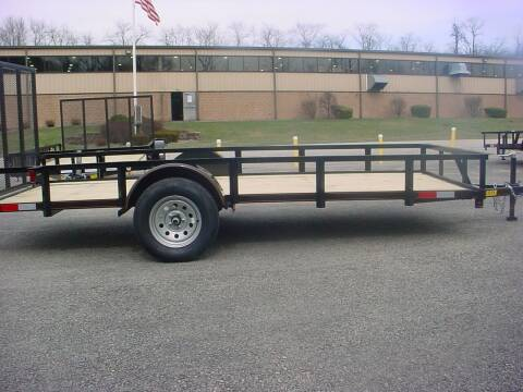"2021 Reiser 77"" x 14' Utility Trailer for sale at S. A. Y. Trailers in Loyalhanna PA"