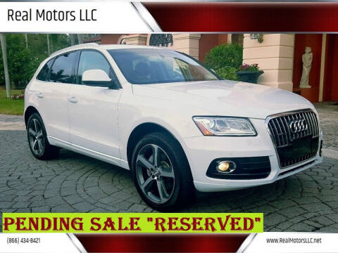 2015 Audi Q5 for sale at Real Motors LLC in Clearwater FL