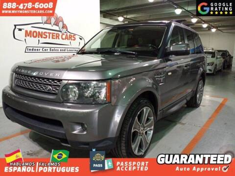2011 Land Rover Range Rover Sport for sale at Monster Cars in Pompano Beach FL