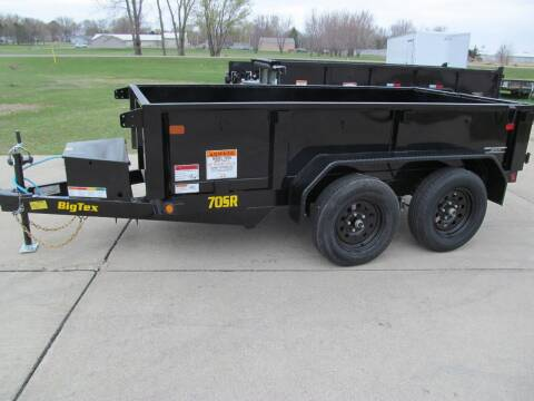 2021 Big Tex 5' X 10' DUMP TRAILER for sale at Flaherty's Hi-Tech Motorwerks in Albert Lea MN