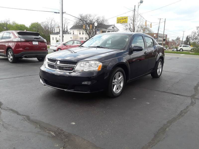 2012 Dodge Avenger for sale at Sarchione INC in Alliance OH