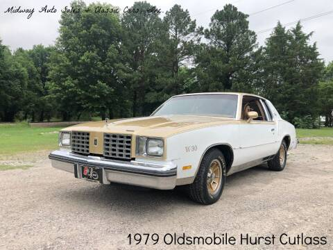 1979 Oldsmobile Cutlass Calais for sale at MIDWAY AUTO SALES & CLASSIC CARS INC in Fort Smith AR