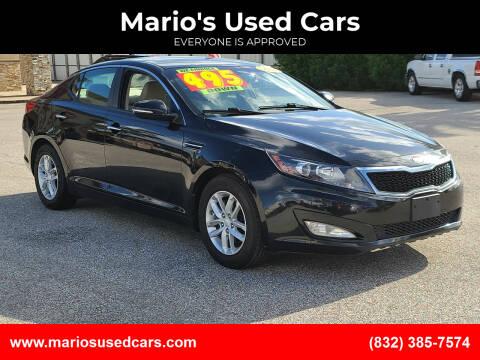 2013 Kia Optima for sale at Mario's Used Cars - Pasadena Location in Pasadena TX