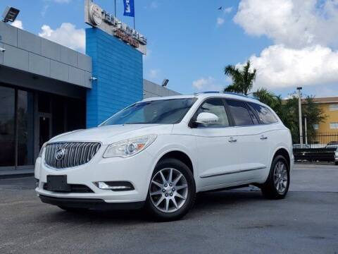 2016 Buick Enclave for sale at Tech Auto Sales in Hialeah FL