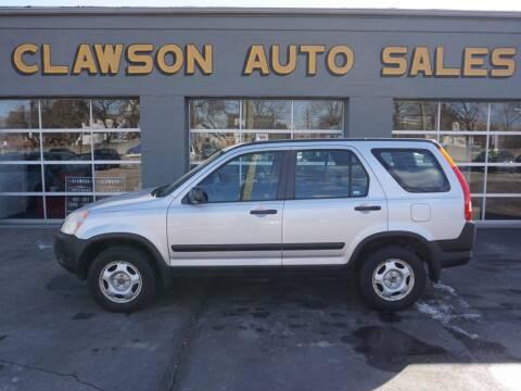 2003 Honda CR-V for sale at Clawson Auto Sales in Clawson MI