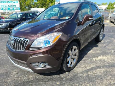 2014 Buick Encore for sale at CAR-RIGHT AUTO SALES INC in Naples FL