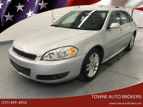 2010 Chevrolet Impala for sale at TOWNE AUTO BROKERS in Virginia Beach VA