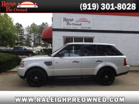 2008 Land Rover Range Rover Sport for sale at Raleigh Pre-Owned in Raleigh NC