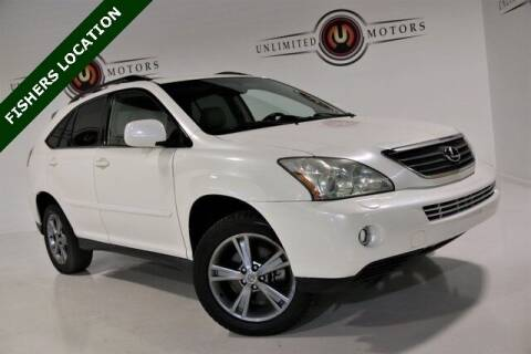 2006 Lexus RX 400h for sale at Unlimited Motors in Fishers IN
