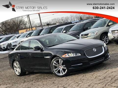 2015 Jaguar XJ for sale at Star Motor Sales in Downers Grove IL