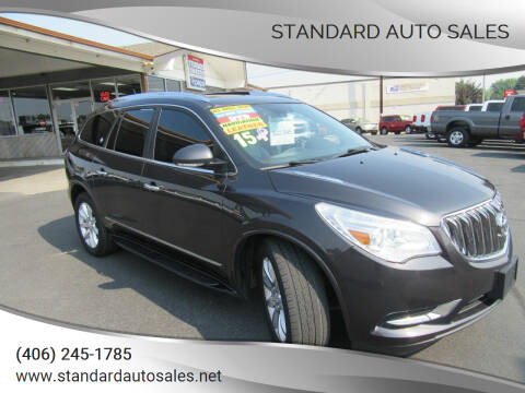 2015 Buick Enclave for sale at Standard Auto Sales in Billings MT