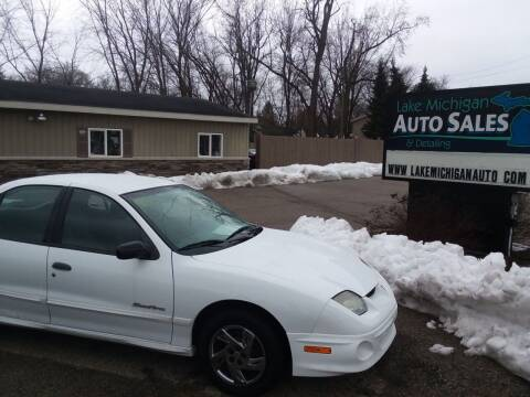2002 Pontiac Sunfire for sale at Lake Michigan Auto Sales & Detailing in Allendale MI