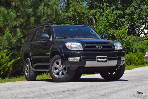 2003 Toyota 4Runner for sale at Rosedale Auto Sales Incorporated in Kansas City KS