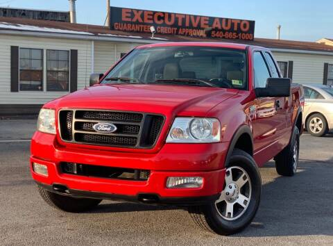 2004 Ford F-150 for sale at Executive Auto in Winchester VA