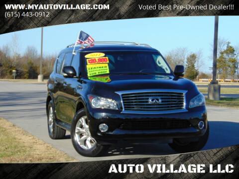 2011 Infiniti QX56 for sale at AUTO VILLAGE LLC in Lebanon TN