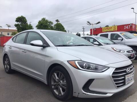 2018 Hyundai Elantra for sale at CARCO SALES & FINANCE in Chula Vista CA