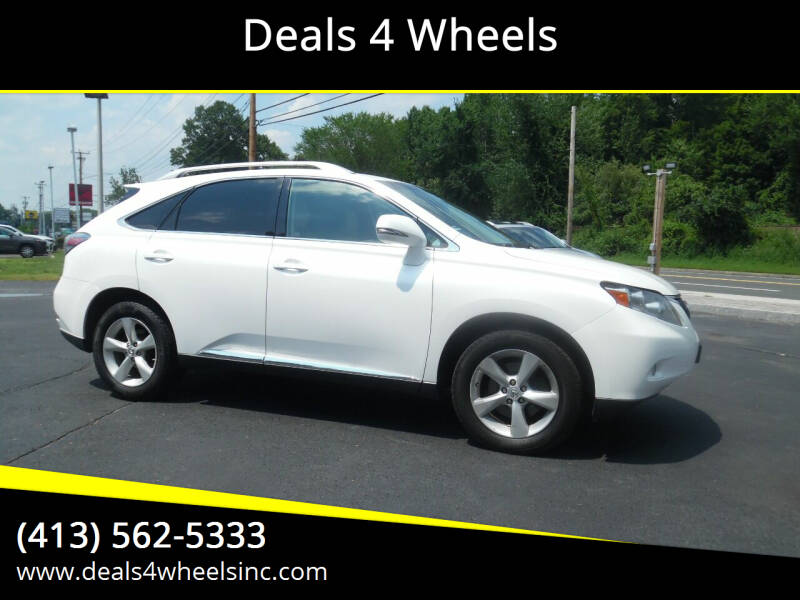 2010 Lexus RX 350 for sale at Deals 4 Wheels in Westfield MA