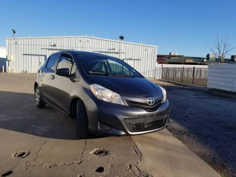 2012 Toyota Yaris for sale at DFW AUTO FINANCING LLC in Dallas TX