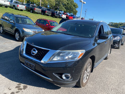 2013 Nissan Pathfinder for sale at Ball Pre-owned Auto in Terra Alta WV