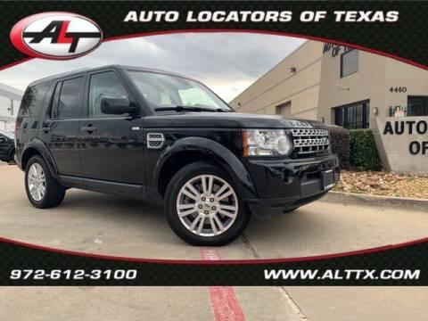 2012 Land Rover LR4 for sale at AUTO LOCATORS OF TEXAS in Plano TX