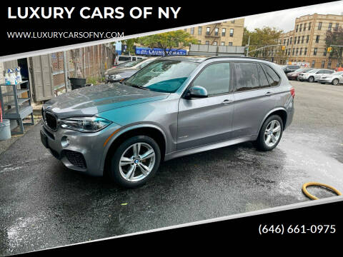 2016 BMW X5 for sale at LUXURY CARS OF NY in Queens NY