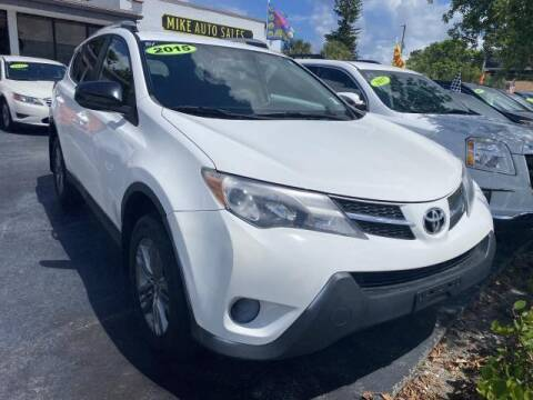 2015 Toyota RAV4 for sale at Mike Auto Sales in West Palm Beach FL