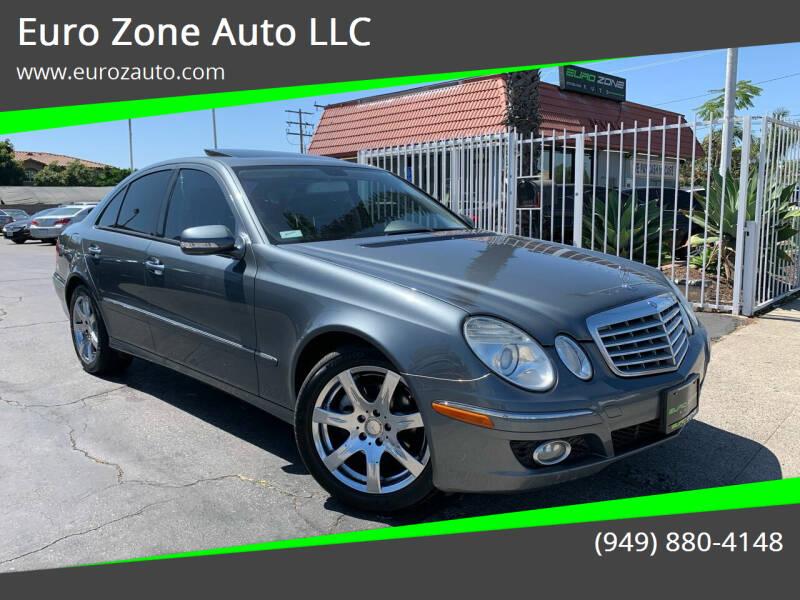 2008 Mercedes-Benz E-Class for sale at Euro Zone Auto in Stanton CA