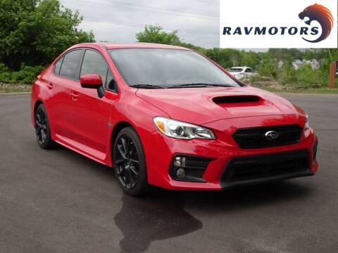 2020 Subaru WRX for sale at RAVMOTORS in Burnsville MN