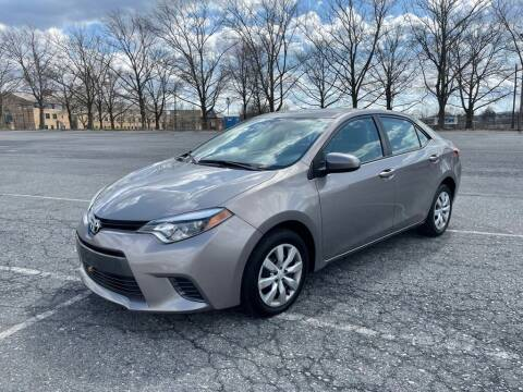 2015 Toyota Corolla for sale at Amicars in Easton PA