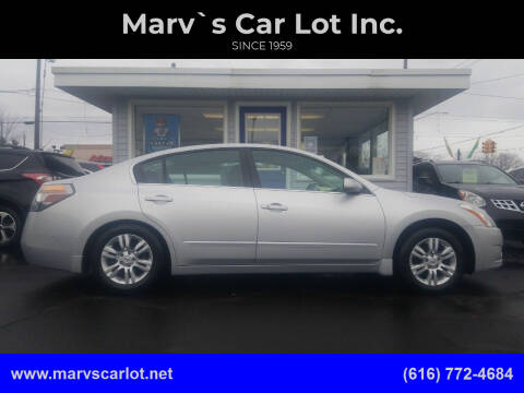 2010 Nissan Altima for sale at Marv`s Car Lot Inc. in Zeeland MI