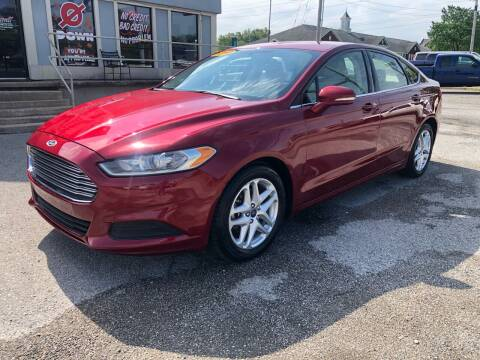 2016 Ford Fusion for sale at Bagwell Motors Springdale in Springdale AR