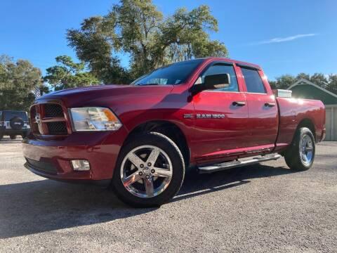 2012 RAM Ram Pickup 1500 for sale at Auto Liquidators of Tampa in Tampa FL