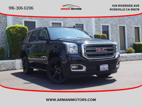 2017 GMC Yukon for sale at Armani Motors in Roseville CA