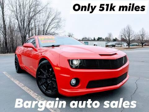 2011 Chevrolet Camaro for sale at Bargain Auto Sales LLC in Garden City ID