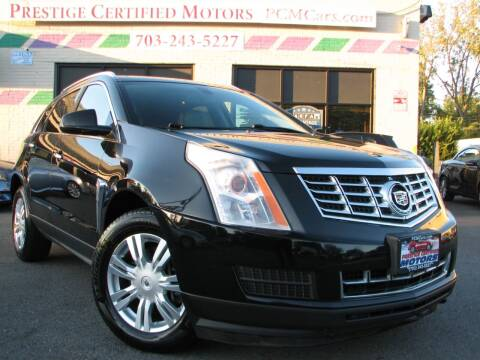 2013 Cadillac SRX for sale at Prestige Certified Motors in Falls Church VA