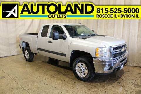 2011 Chevrolet Silverado 2500HD for sale at AutoLand Outlets Inc in Roscoe IL