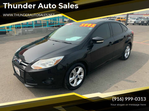 2013 Ford Focus for sale at Thunder Auto Sales in Sacramento CA