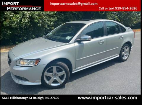 2009 Volvo S40 for sale at Import Performance Sales in Raleigh NC