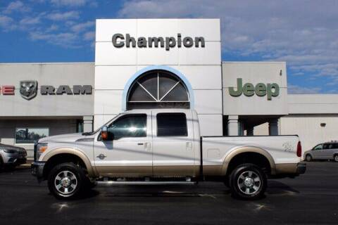 2013 Ford F-250 Super Duty for sale at Champion Chevrolet in Athens AL