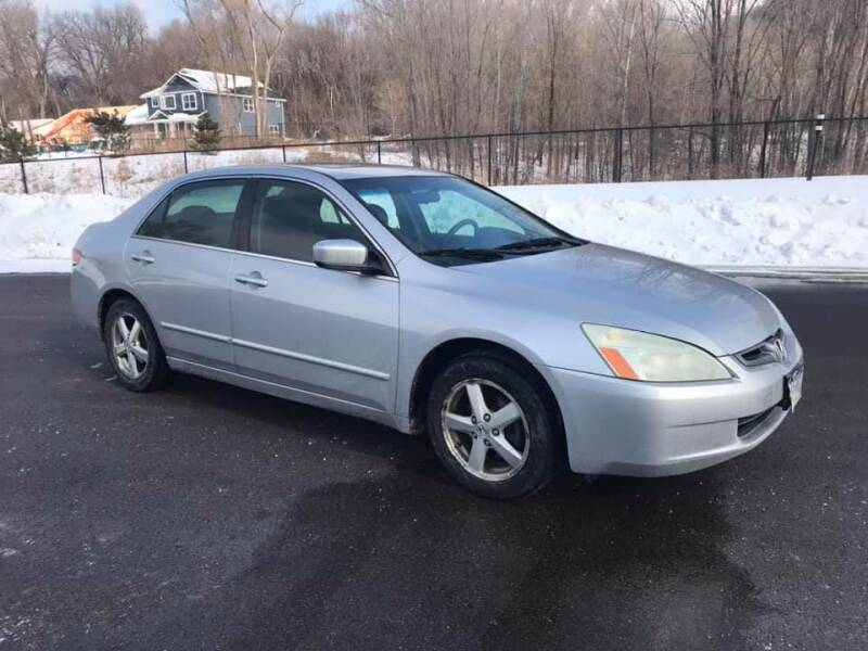 2004 Honda Accord for sale at Angies Auto Sales LLC in Newport MN
